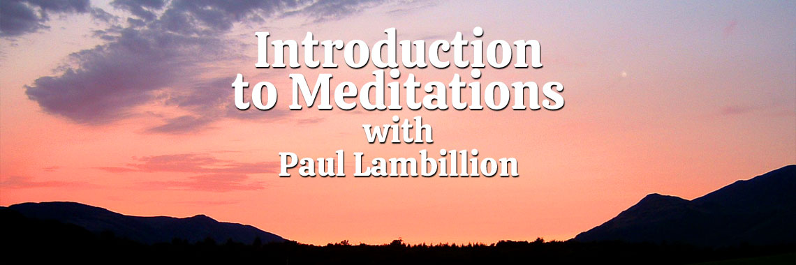 Introduction to Paul's Meditations